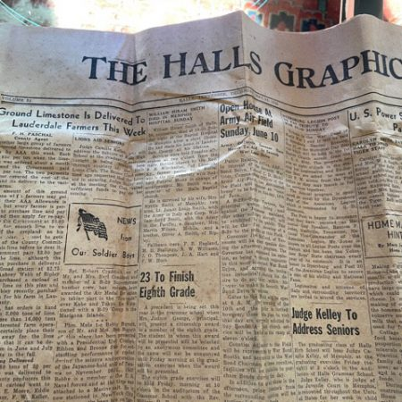 War time Newspaper